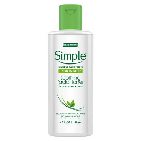 Simple Kind to Skin Facial Toner Soothing 6.7 oz (Best Toner For Redness)