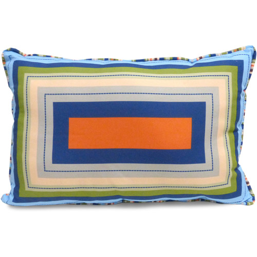 Mainstays Kids' Decorative Pillow, Oblong Squares