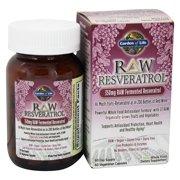 Garden of Life - Raw Resveratrol RAW Fermented Resveratrol 350 mg. - 60 Capsules