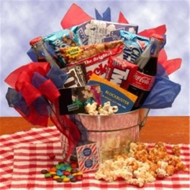 Blockbuster Night Movie Gift Pail- Medium- 820122