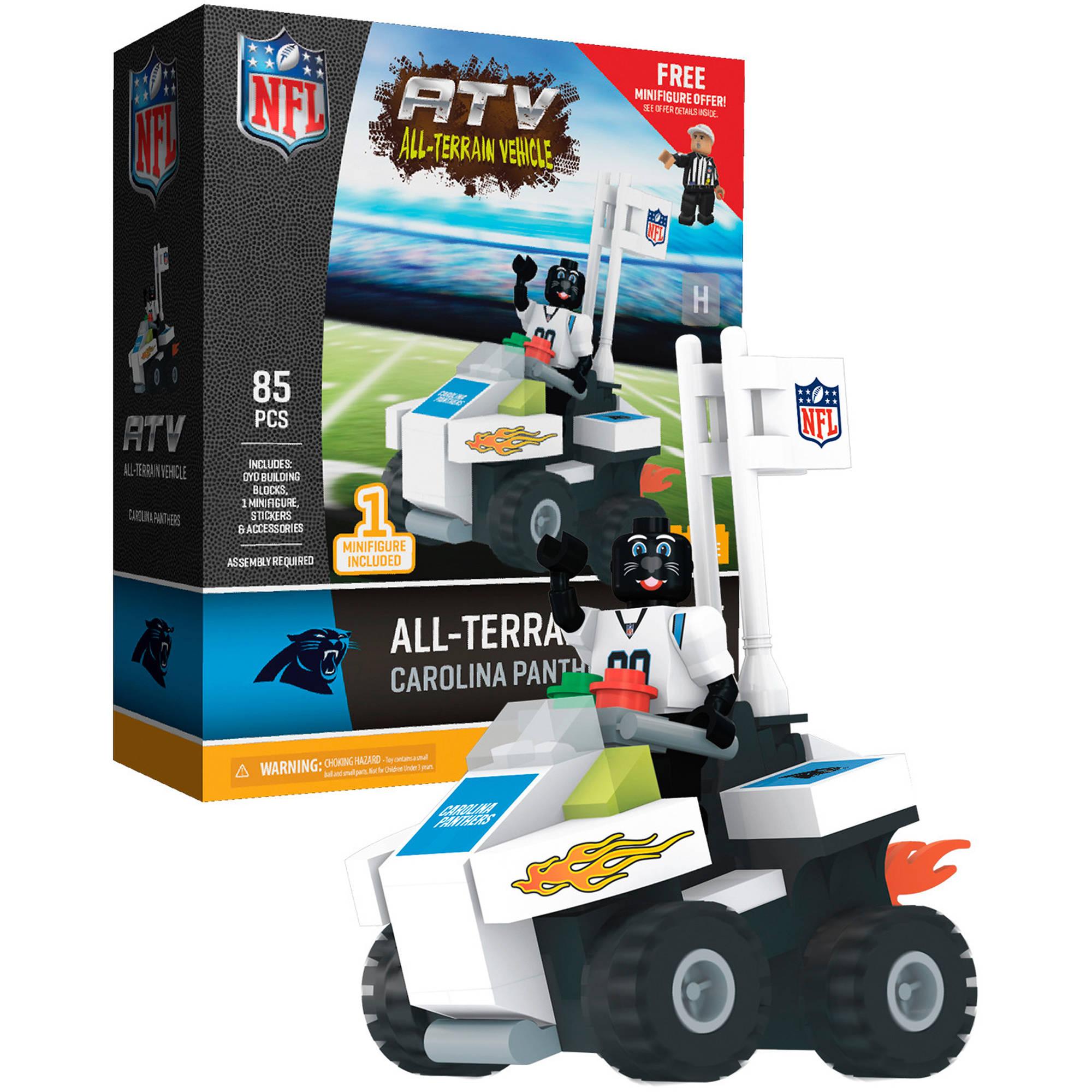 OYO Sports NFL Carolina Panthers NFL 4-Wheel ATV with Mascot