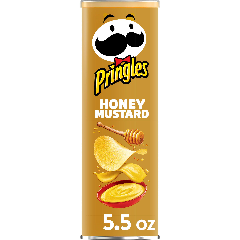 Pringles Potato Crisps Chips Honey Mustard 5 5 Oz Walmart Com Walmart Com