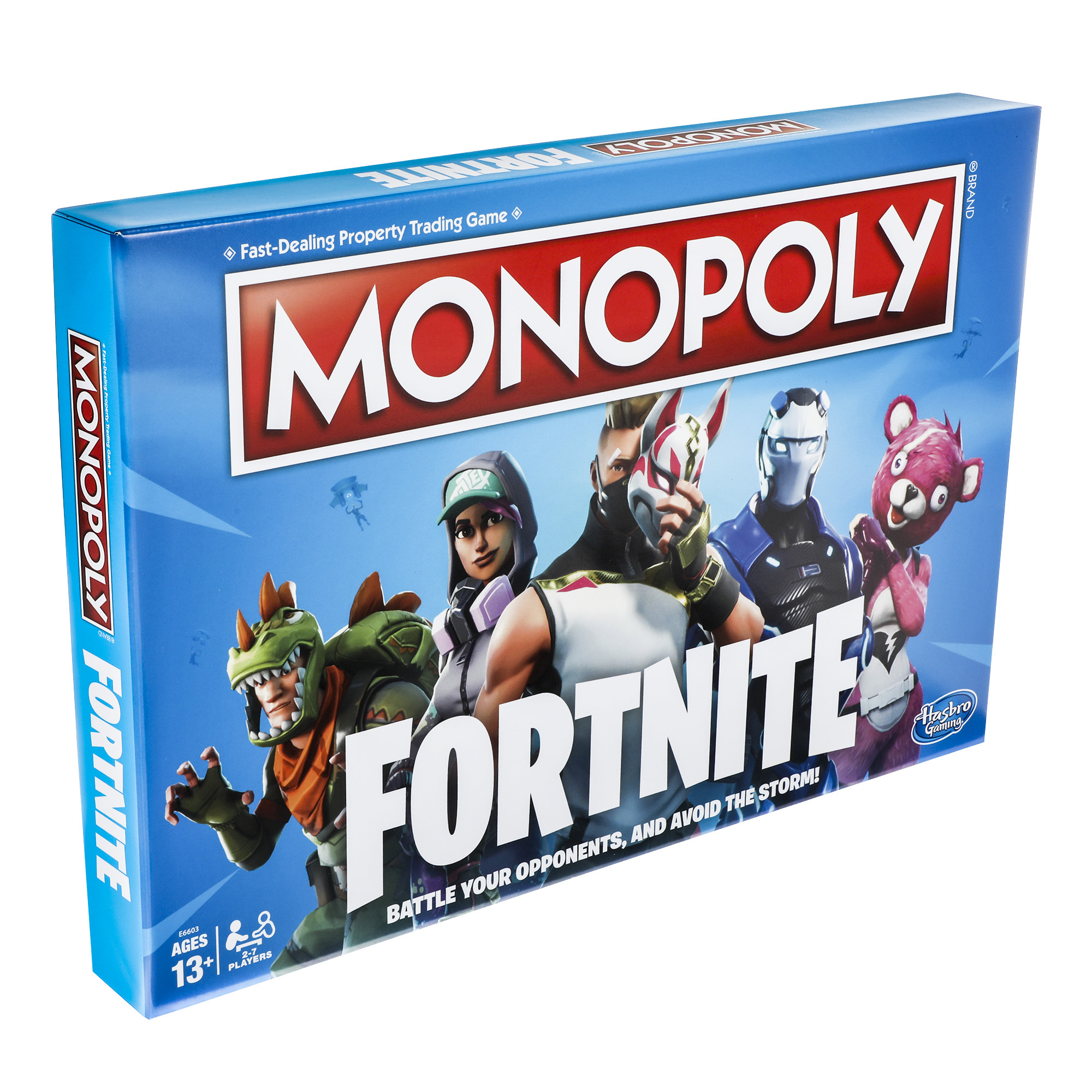 89b9db0d184d Monopoly Fortnite Board Game for Ages 13 and up - Walmart.com