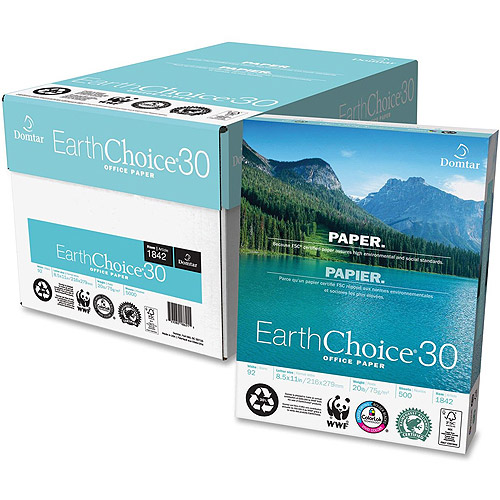 Domtar EarthChoice 30 Recycled Multipurpose Paper