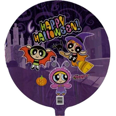 Halloween Powerpuff Girls (Powerpuff Girls Halloween Foil Mylar Balloon)