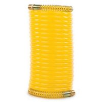 """75418 1/4"""" (6.35mm) X 25' (7.62m) Nylon Recoil Air Hose W/ 1/4"""" Couplers (200 Ps"""