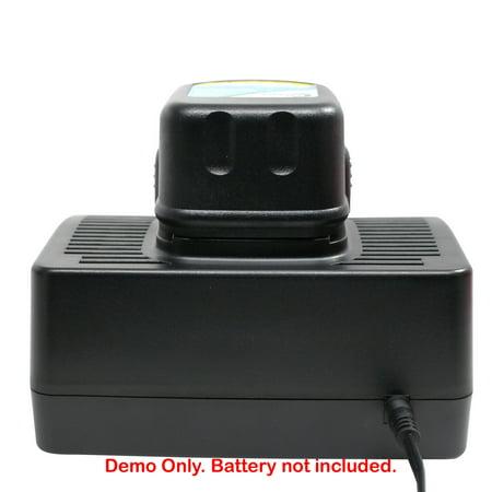 Universal Dewalt Charger Replacement for Dewalt 7.2V, 9.6V, 12V, 14.4V, 18V Batteries - Compatible with DeWalt DW9062 Battery, DW9061, DC759, DW059, DC390, DC9096, DC385, DW920K-2, DW920, DC720KA - image 2 de 4
