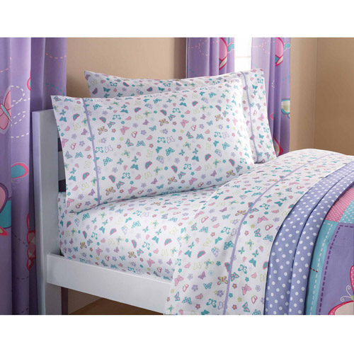 butterfly sheet set