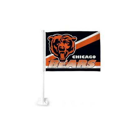 promo code a4ace 1112b NFL Chicago Bears Car Flag