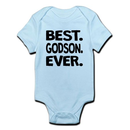 CafePress - Best. Godson. Ever. Body Suit - Baby Light (Best Pathani Suit For Mens)