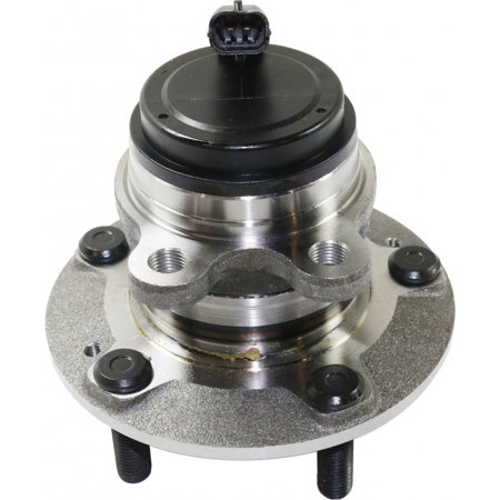 For Hyundai Genesis Coupe Wheel Hub Assembly 2010-2016 R=L Single Piece | Front | 5 Lugs | Non-Driven Type | 517502M000