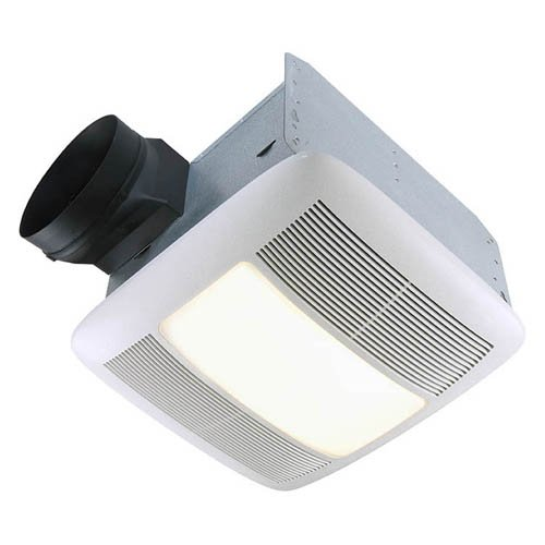 Broan-Nutone QTXN110HFLT Ultra Silent Bathroom Heat / Fan / Light / Night-Light