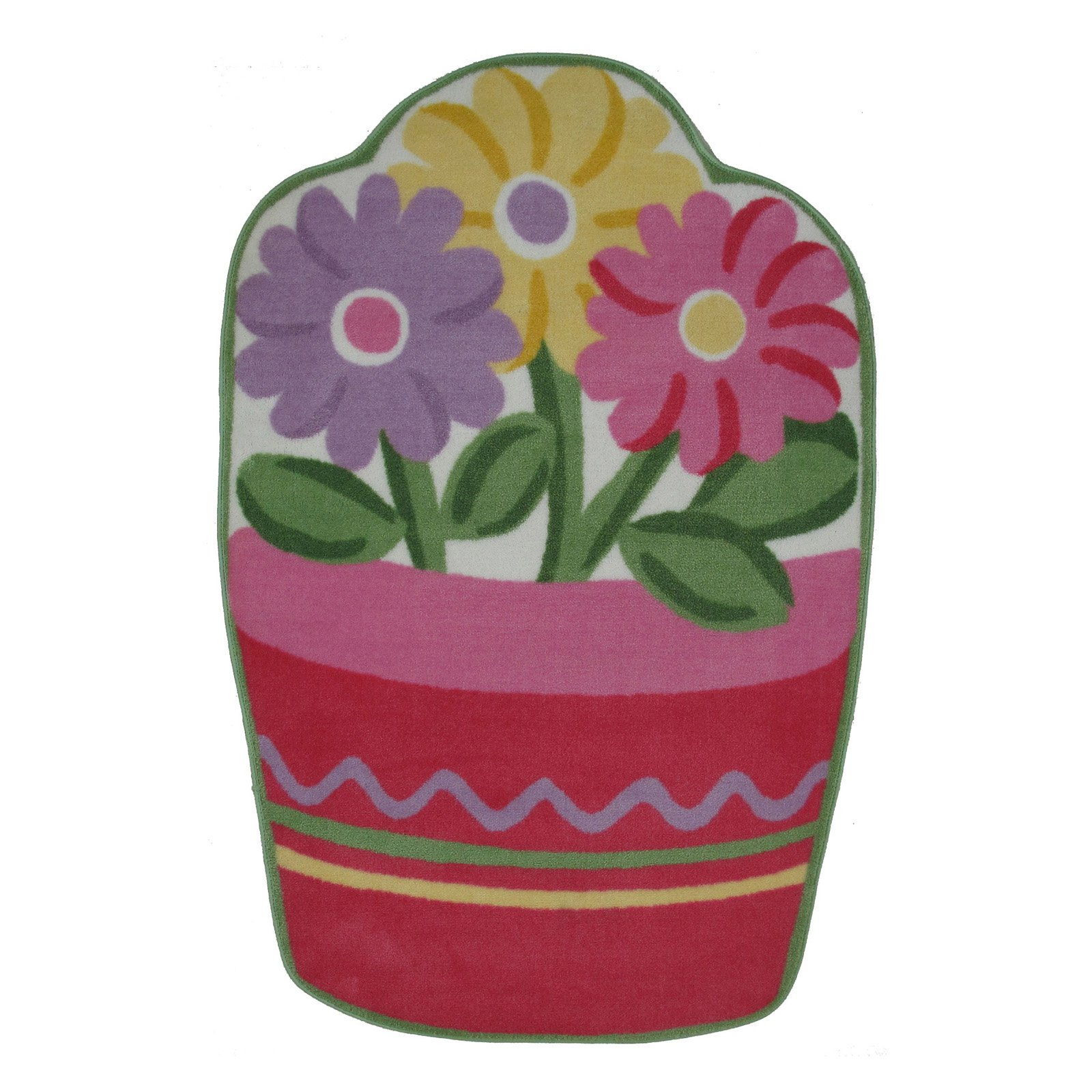 "Fun Rugs Flower Pot 39"" x 58"" Rug"