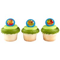 24 Disney Lion King Pride Rock Cupcake Cake Rings Birthday Party Favors Toppers
