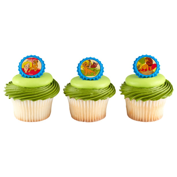 Astounding 24 Disney Lion King Pride Rock Cupcake Cake Rings Birthday Party Funny Birthday Cards Online Barepcheapnameinfo