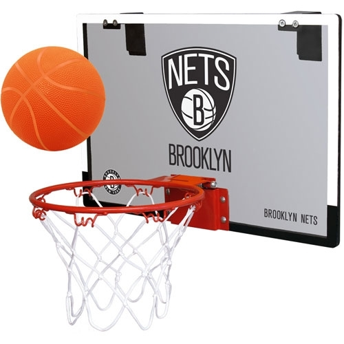 Rawlings NBA Game On Polycarb Hoop Set Brooklyn Nets