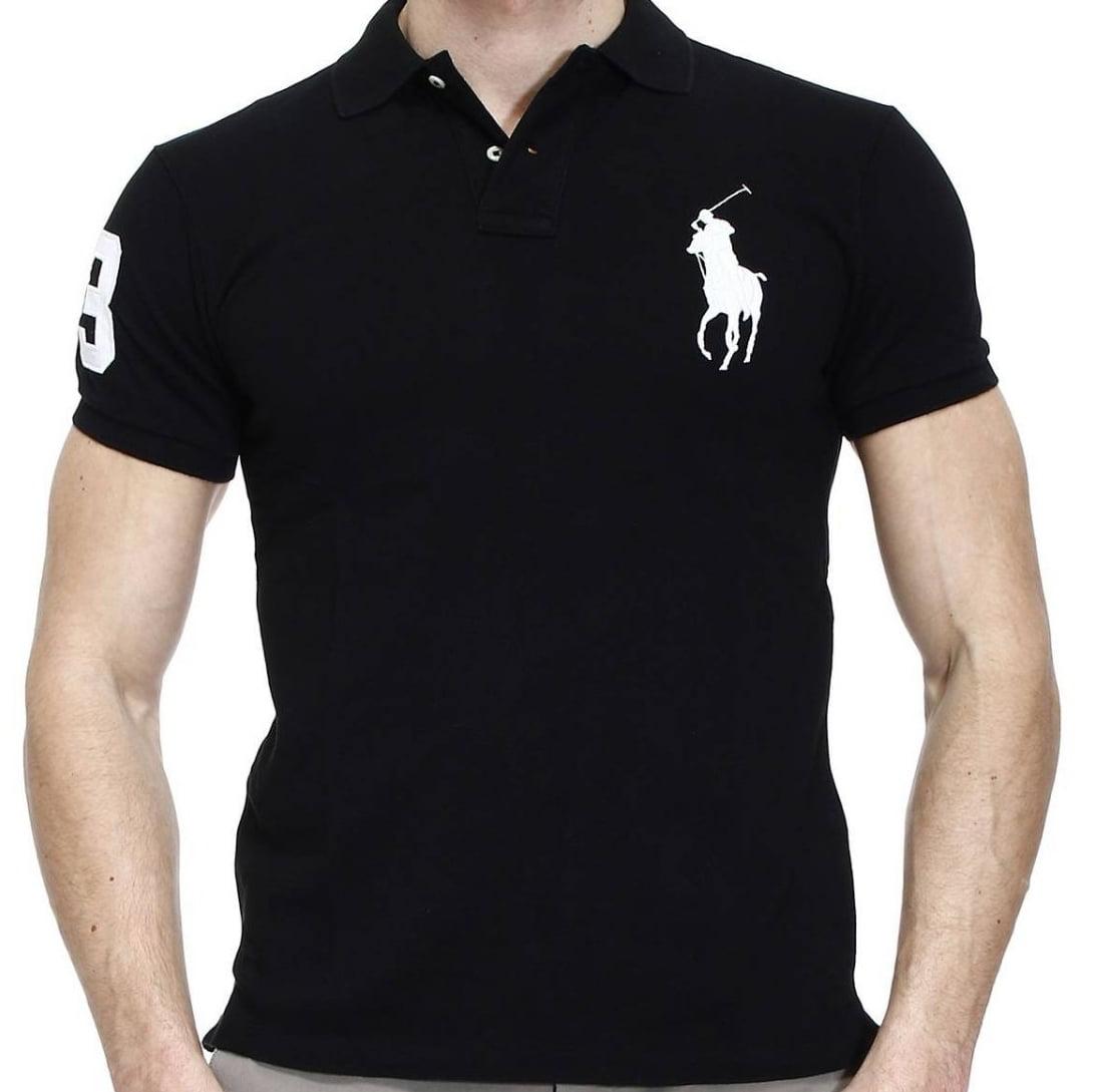 NWT Ralph Lauren Boy/'s S//S Big Pony Crested Mesh Polo Shirt Sz 5 6 NEW $40