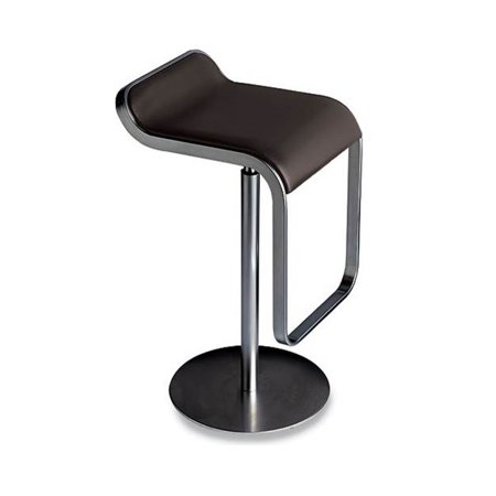 Admirable Lem Adjustable Backless Stool With Leather Seat White Machost Co Dining Chair Design Ideas Machostcouk