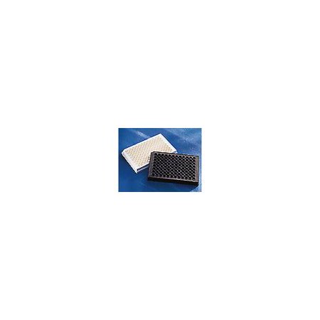Corning® 96 Well Black Flat Bottom Polystyrene NBS™ Microplates 96 Well Flat Clear Bottom