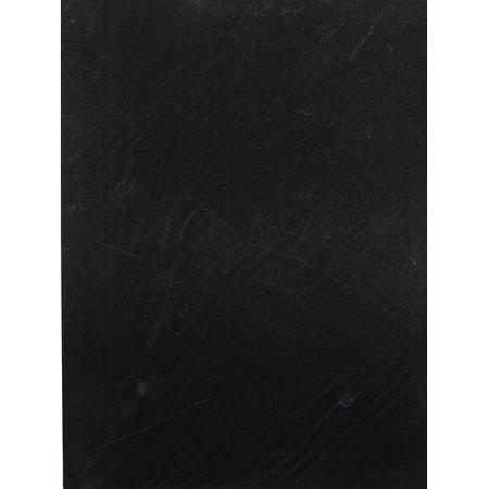Pow! Glitter Paper black, 8 1/2 in. x 11 in., sheet (pack of 12)