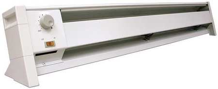 DAYTON 1500 1000W Electric Baseboard Heater, Convection, 120V, 3UG01 by Electric Heaters