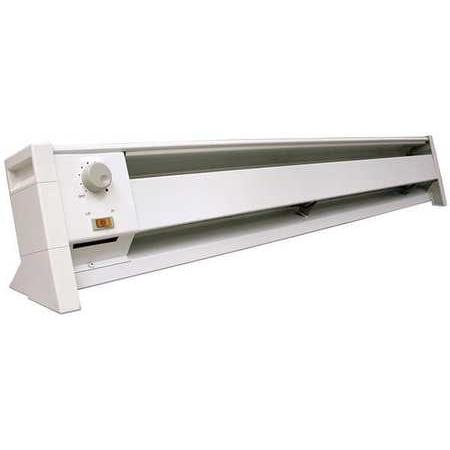 DAYTON Elec. Baseboard Heater,1500 W,5118 BtuH 3UG01