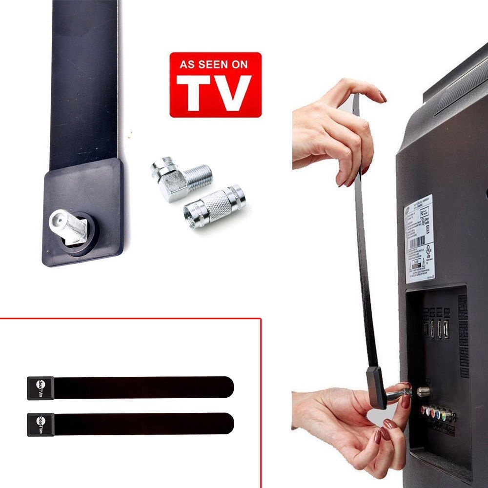 FREE HD TV Digital Indoor Antenna Ditch Cable NEW Clear TV Key 1080p HDTV 100