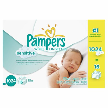 Pampers Skin Care (Pampers Sensitive Skin Baby Wipe Refills, 1,024 ct. (baby wipes - Wholesale)