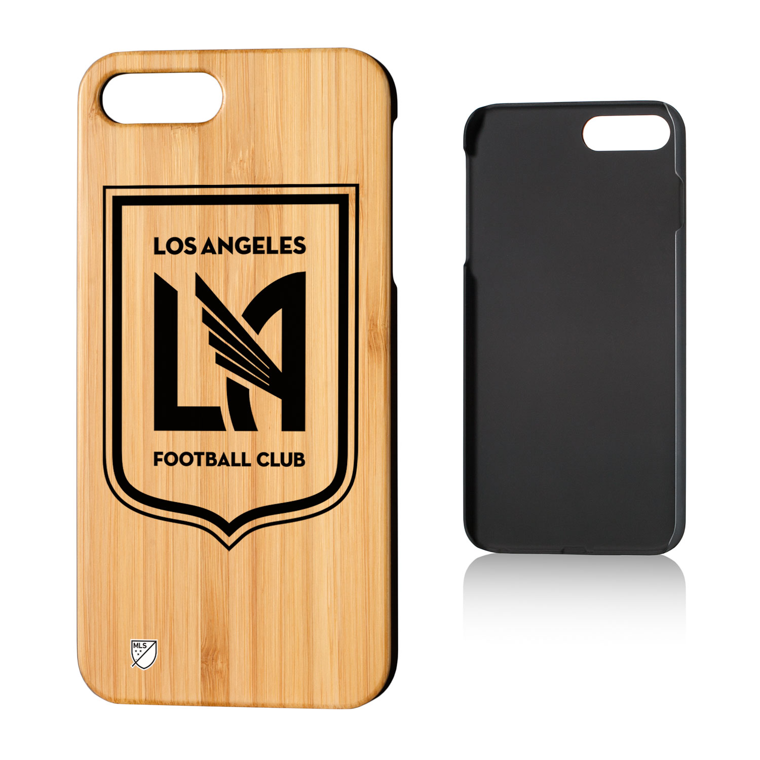 Los Angeles Footbal Club LAFC Insignia Bamboo Case for iPhone 8 Plus / 7 Plus