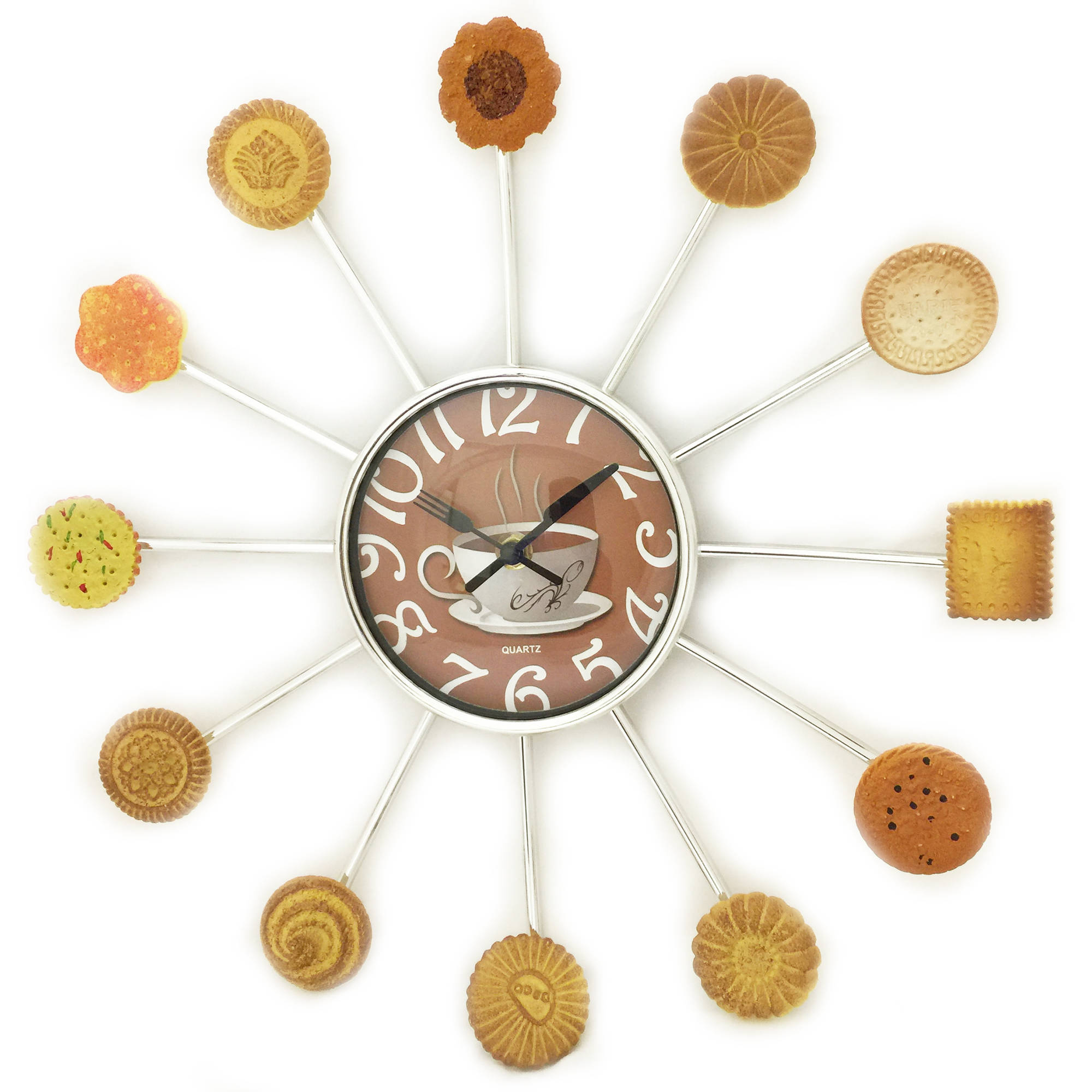 Cookies and Coffee Clock by Generic