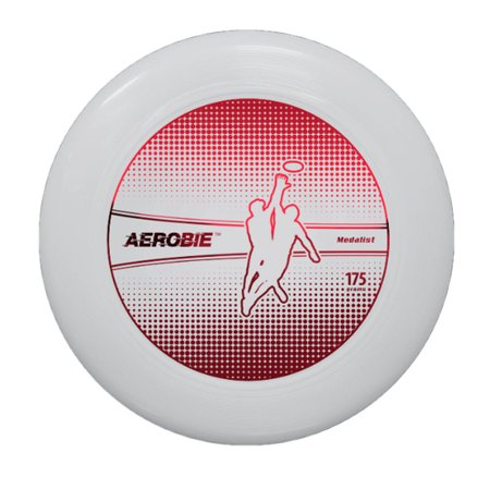 Aerobie Medalist Disc 175G White Red