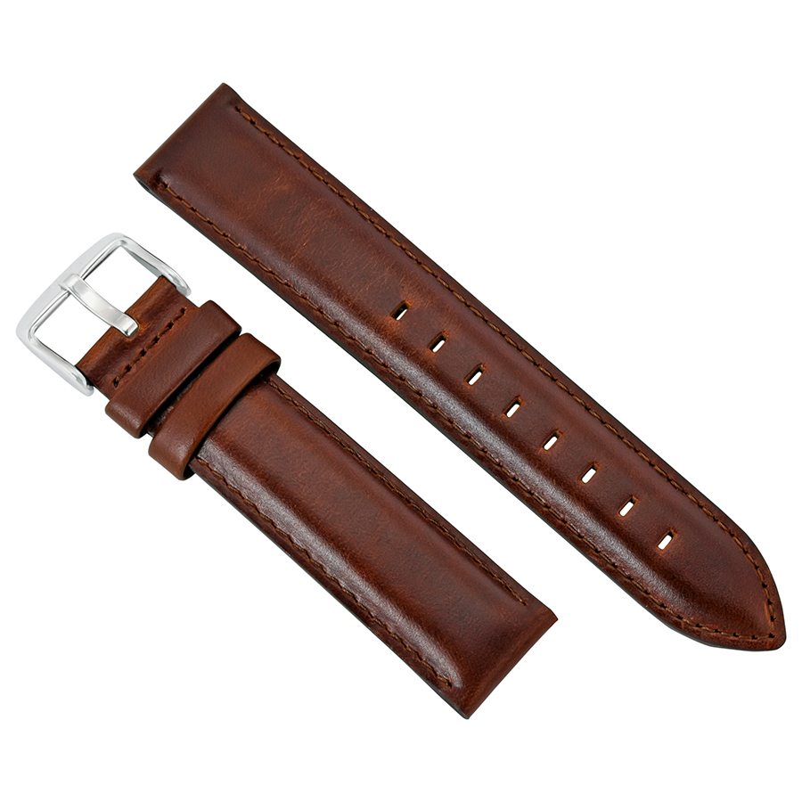 Daniel Wellington Dapper St. Mawes Brown Leather Watch Band Strap 1220DW