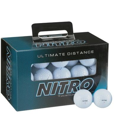 Nitro Golf Ultimate Distance Golf Balls, 45 Pack 36 Golf Ball Display