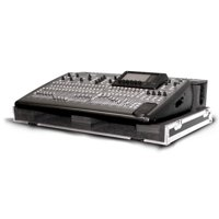 BEHRINGER X32 MIXING CONSOLE CASE WITH CASTER PLATE AND DOGHOUSE