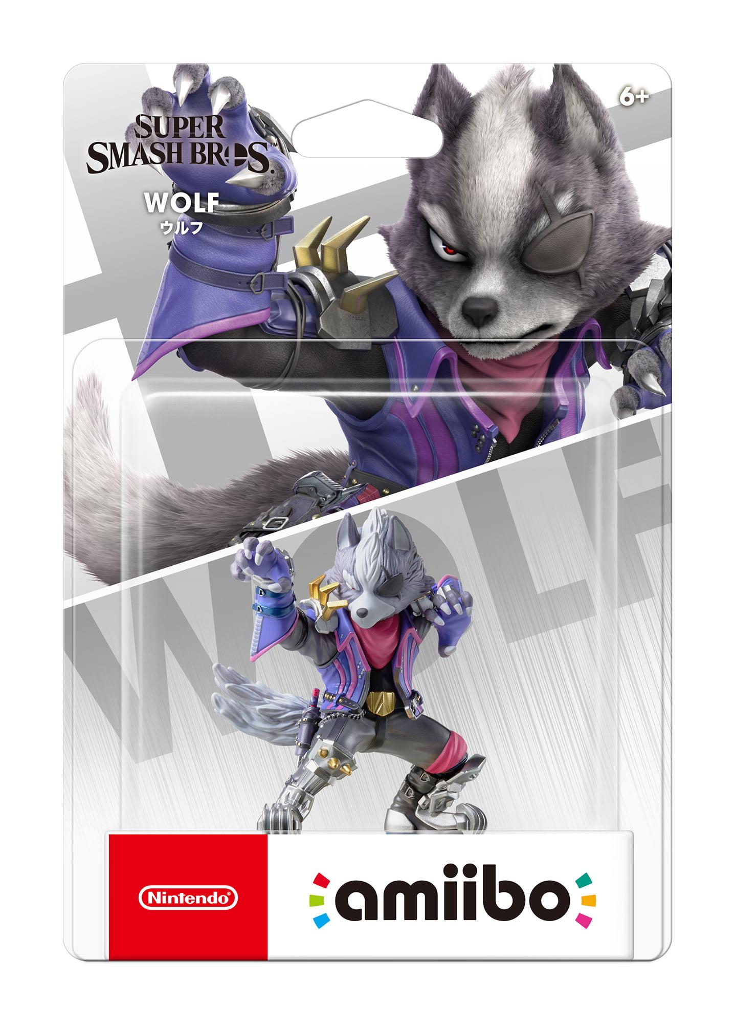 Nintendo Smash Bros Series Amiibo Wolf Walmart Com
