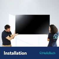 """TV Wall Mounting (up to 70"""") by HelloTech (Mount not included)"""