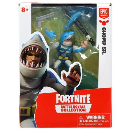 Fortnite Battle Royale Collection Chomp Sr. Mini Figure