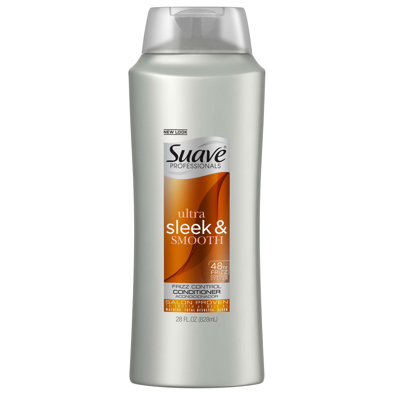 Suave Professionals Sleek Conditioner, 28 oz