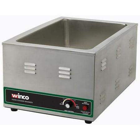 winco fw s600 120v electric food warmer cooker. Black Bedroom Furniture Sets. Home Design Ideas