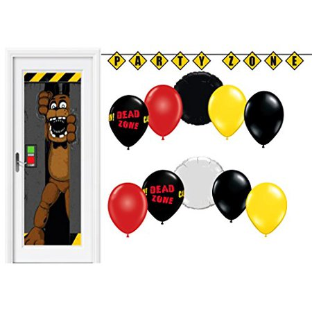 Decorating With Balloons (Five Nights At Freddys Party Balloons Decorating Kit With Scene)