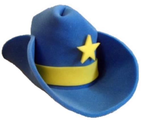 30 Gallon Foam Cowboy Costume Hat Pick Color 10 20 Giant Big Huge Jumbo Western