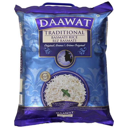 Daawat Traditional Basmati Rice, 10 lb