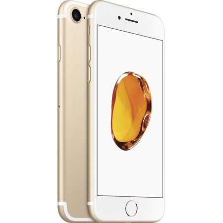 Straight Talk Apple iPhone 7 w/32GB Prepaid Phone, Gold
