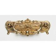 Omnia  9412-90  Pulls  Decorative Drop  Cabinet Hardware  Drop  ;Polished Brass