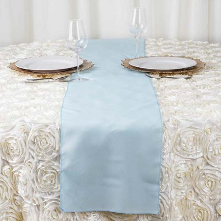 Efavormart 5PCS Premium Polyester Table Top Runner For Weddings Birthday Party Banquets Decor Fit Rectangle and Round Table (Happy Birthday Table Runner)