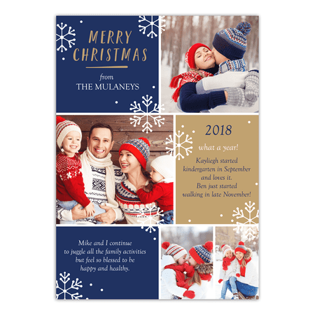 Personalized Christmas Cards.Christmas Review 5x7 Personalized Christmas Card