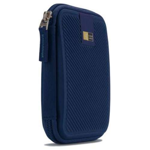 Case Logic Portable Hard Drive Case, Dark Blue - Walmart.com
