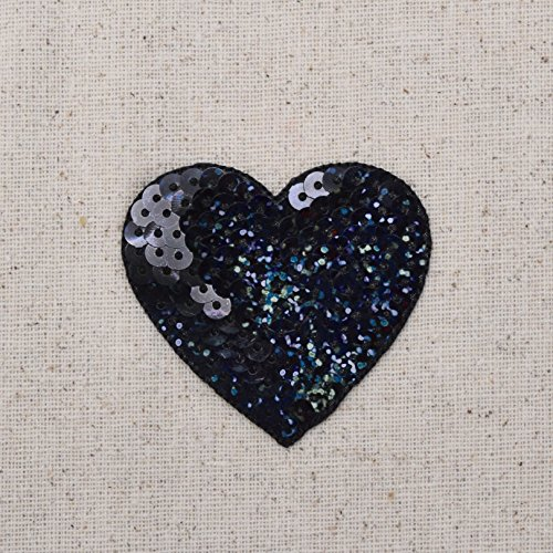 5 pcs Mickey Mouse Sequin Applique Patch Iron On Scrapbooking Craft Supply