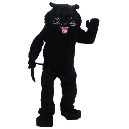 PANTHER BLACK MASCOT COMPLETE - Panther Mascot
