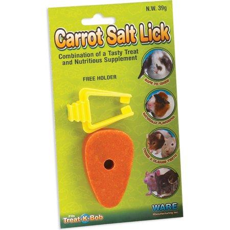 Ware Mfg. Inc. Bird/sm An-Carrot Salt Lick- (Rock Salt Lick)